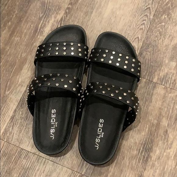 J/SLIDES Shoes | Jslides Erika Stud